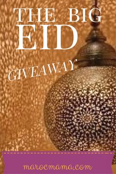 Great Big Eid Giveaway from MarocMama - 12 hours left!!