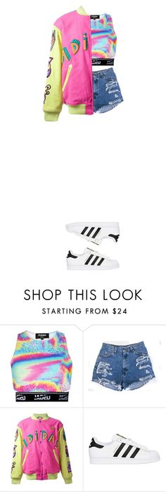 """452; lights out, killin it some more"" by korean-otaku ❤ liked on Polyvore featuring adidas Originals and slay"