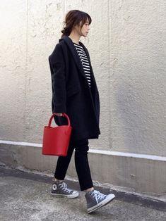 ari☆さんの「【PELLETTERIA VENETA】レザーバケツバッグ◆(Spick & Span)」を使ったコーディネート