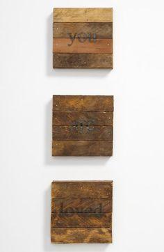 Repurposed Wood Wall Art   Nordstrom