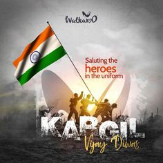 Let's remember and pay tributes to the martyrs who made the ultimate sacrifice and fought for the nation.  #Walkaroo #BeRestless #KargilVijayDiwas