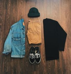 mens outfits in the Cool Outfits, Casual Outfits, Men Casual, Fashion Outfits, Mens Fashion, Fashion Guide, Fashion Trends, Hype Clothing, Mens Clothing Styles