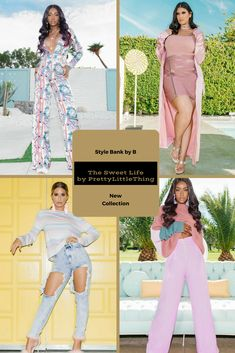 PrettyLittleThing wants to welcome you to the sweet life! 💘🍭  So check out the full The Sweet Life by PrettyLittleThing collection here - http://www.stylebankbyb.com/fashion/new-collection-the-sweet-life-by-prettylittlething
