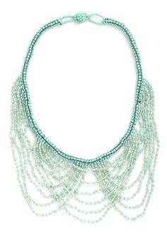 Turquoise in Caicos Necklace on Wantering  #Inspiration #Halloween #Costume #Incandescent #SeaNymph