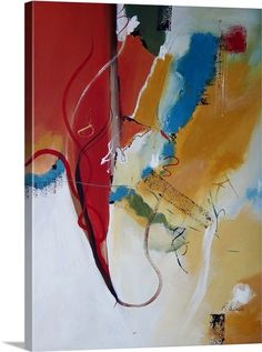 Same artist as abstract in apartment - Redemption by Ruth Palmer. 45x60 inches - $449.99 - Wrapped Canvas