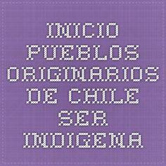 Inicio - Pueblos Originarios de Chile Ser Indigena