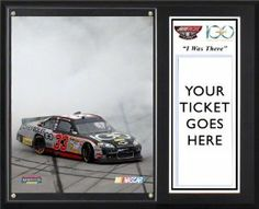 "Clint Bowyer Sublimated 12x15 Plaque | Details: 2011 Good Sam Club 500 Victory at Talladega Superspeedway, ""I WAS THERE"" by Mounted Memories. $39.99. Commemorate Clint Bowyer's 2011 Good Sam Club 500 victory at Talladega Superspeedway. This pressboard plaque with a black overlay finish comes with an 8x10 photograph of the Good Sam Club 500 race. It also features an acrylic ticket holder to display your Good Sam Club 500 ticket.  The product is officially licensed by..."