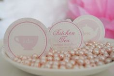 Sweet kitchen tea parties - a bit pink for me but cute nonetheless