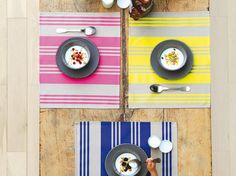 #table #été #couleurs Decoration Table, Articles, Decorating Staircase, Vacation, Colors, Home