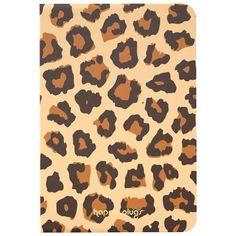 Happy Plugs Essential iPad Mini 4 Folio Book Case - Leopard Folio Books, Radio Alarm Clock, Ipad Mini, Animal Print Rug, Plugs, Cool Things To Buy, Bookcase, Happy, Cool Stuff To Buy