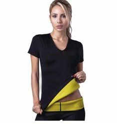 6b9c129b9a3 2017 Hot Body Shapers T-shirt Hot Shapers Stretch Neoprene Slimming Vest  Body Shaper Control