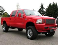 Lifted Sport Truck: 2004 Ford F250 Super Duty XLT Crew Cab — $18995