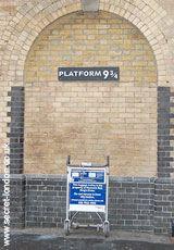 SECRET LONDON / Walks / Kings Cross- JK Rowling was thinking of Euston Station when she wrote the books.
