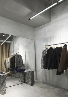 http://www.astuteinteriors.com.au Curtain rod hanging from ceiling  our legacy store