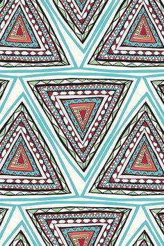 triangle pattern - Google Search | Interesting Patterns ...