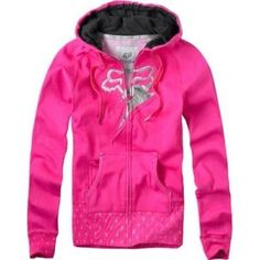 fox brand clothing for girls | Fox Girls PacSun.com - Bolted Pink Hoodie - Avenue7 - Express your ... Camo Outfits, Pink Outfits, Fashion Outfits, Fox Shirt, Sweater Shirt, Pacsun, Fox Racing Clothing, Fox Brand, Hoodies