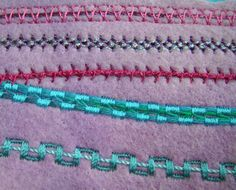 Sewing with a twist--Yarn, that is!