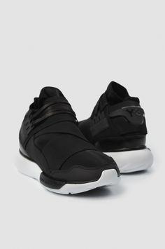 fcde0282fb29d Y-3 Qasa High Black Sneakers