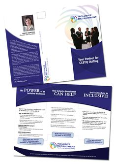 awesome executive search firms job consultants headhunter brochure samples