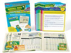 Baseball Math - Multiplication & Division Problem Solving Kit at Lakeshore Learning