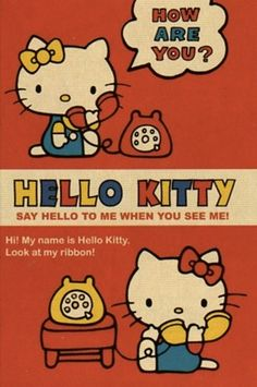 /// vintage hello kitty