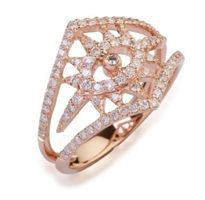 CR diamond eye ring from Casa Reale; MSRP: $2,151