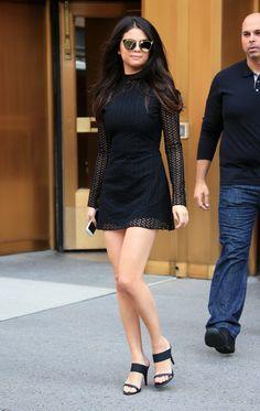 Selena Gomez | Leaving a studio in New York City (2015)
