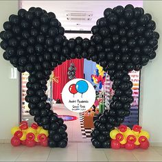 Mickey Disney Baloes Balloons Qualatex Andrefigueiredo Gracepires Tiara