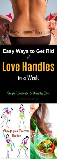 How to Get Rid of Love Handles in a Week at Home | 10 Weight Loss Tips