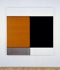 2008 Exposed Painting Cadmium Orange Oil on linen | 160 x 156 cm