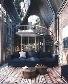 """31 The Best Tiny House Interior Design Ideas You Will Love - I've just spent months and months clearing all my clutter. My """"yes"""" box is tiny compared to my """"no"""" box and my """"maybe"""" box is huge. Industrial Interior Design, Industrial House, Home Interior Design, Industrial Style, Simple Interior, Industrial Furniture, Interior Ideas, Interior Decorating, Vintage Industrial"""