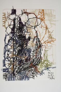 Rieko KOGA - Thread on paper