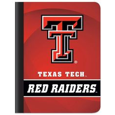 Texas Tech Red Raiders Team Logo Composition Book