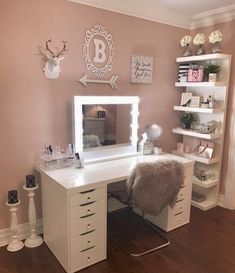 "30e3ba716053 Olivia Jent on Instagram  ""Lovely vanity ✨ Double tap if you 💗 this!"