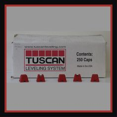 Tuscan Levelling System Reusable - Per Box Tiling Tools, Tile Installation, Stone Tiles, Accessories Shop, Box, How To Make, Floors Of Stone, Snare Drum