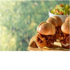 Pulled Chicken Sliders with Barq's Root Beer Barbecue Sauce