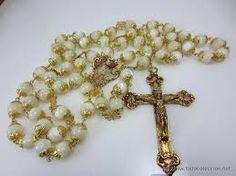 antiguo rosario de perlas - Buscar con Google