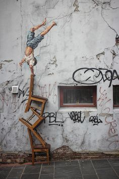 Ernest Zacharevic Street Art Pelo Mundo!