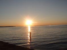 Sunset Borstahusen