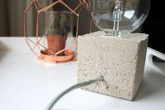 DIY Lampe, Ansicht von hinten