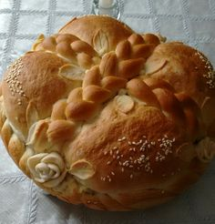 Serbian Recipes, Ukrainian Recipes, Greek Recipes, Diabetic Recipes, Cooking Recipes, Holiday Bread, Food Decoration, Easter Cookies, Pie Dessert