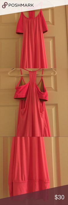 NWOT Lululemon No Limits tank New without tags. Super comfy and flattering tank. Sports bra and shirt in one. lululemon athletica Tops Tank Tops