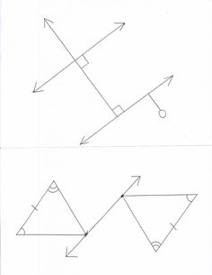 Buliding Up Geometry Vocab - one partner will draw the picture while the other student must only give directions and is not allowed to use hand gestures.
