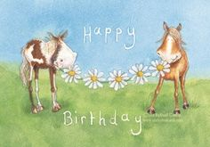 Horsey Birthday Wishes