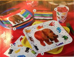 Brown Bear Eric Carle Birthday Party Oriental Trading Co