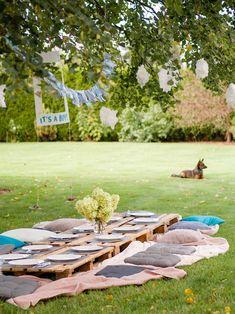 Baby Shower – garden party w klimacie boho Outdoor Furniture Sets, Outdoor Decor, 2nd Birthday, Baby Shower, Table Decorations, Garden, Party Ideas, Design, Home Decor
