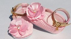 sapatinhos de bebê para meninas+brinde