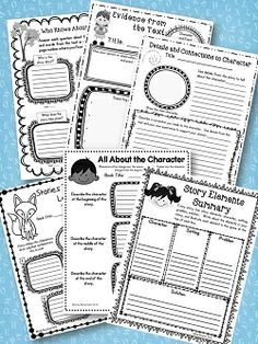 Best selling Graphic Organizers have been a top 100 item for grades 3-5!  80 Graphic Organizers in this terrific packet!  $