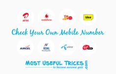 How to Check Mobile Number on any Indian SIM USSD Codes