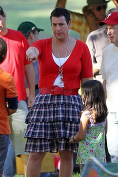 Adam Sandler dresses in drag!